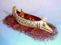 Cyprus Boat from 800 B.C